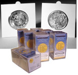 SuperSafe Self Sealing 2x2 Holders for Half Dollars