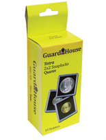 Guardhouse 2x2 Tetra Snaplock for Quarters - Pack of 10