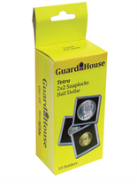 Guardhouse 2x2 Tetra Snaplock for Half Dollars - Pack of 10
