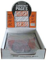 SuperSafe 1 Pocket Currency Pages-Archival- Pack of 100