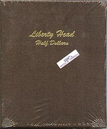 Dansco Album #7150- Liberty Head Half Dollars 1892-1915