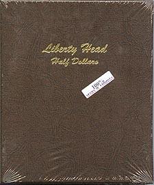 Dansco Coin Album 7150 Liberty Head Half Dollars 1892-1915