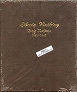 Dansco Album #7161- Liberty Walking Half Dollars 1941-1947