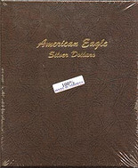 Dansco Album #7181- American Silver Eagles 1986-2021