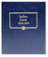 Whitman Album #9111 - Indian Head Cents 1856-1909