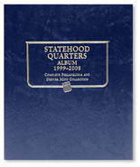 Whitman Album #8089- Statehood Quarters 1999-2008 P&D