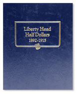 Whitman Album #9124 - Liberty Head Half Dollars 1892-1915