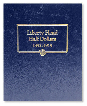 Dansco Coin Album # 7150 For Liberty Head Half Dollars From 1892-1915 NEW!!!