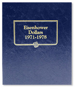 Whitman Album #9131 - Eisenhower Dollars 1971-1978