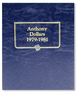 Anthony Dollars From 1979-1999 Including Proof Dansco  Album # 8180 For Susan B