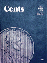 Whitman Folder- Cents - Plain