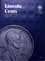 Whitman Folder- Lincoln Cents #2 1941-1974