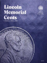 Whitman Folder- Memorial Cents #1 -1959-1998