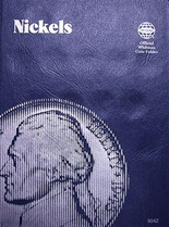 Whitman Folder- Nickels- Plain