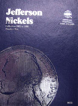 Whitman Folder- Jefferson Nickels #2- 1962-1995