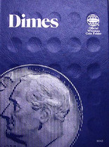 Whitman Folder- Dimes - Plain