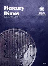 Whitman Folder- Mercury Dimes -1916-1945