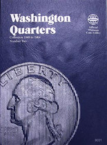 Whitman Folder- Washington Quarters #2- 1948-1964