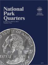 Whitman Folder-National Park Quarters P&D #1- 2010-2015