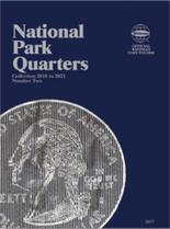 Whitman Folder-National Park Quarters P&D #2 - 2016-2021