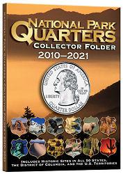Harris National Park Quarters Collectors Folder 2010-2021 Glossy Color Folder