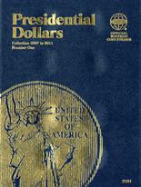 Whitman Folder - Presidential Dollars 2007-2011 Vol.1
