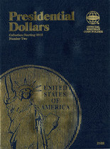 Whitman Folder - Presidential Dollars Starting 2012- Vol.2