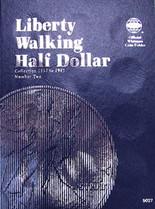 Whitman Folder- Liberty Walking Half Dollars #2- 1937-1947