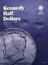 Whitman Folder- Kennedy Half Dollars #1- 1964-1985
