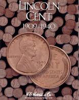Lincoln Cents 1909-1940 Whitman Album MCC