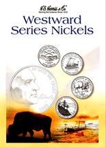 H.E. Harris Folder: Westward Series Nickels 2004-2006