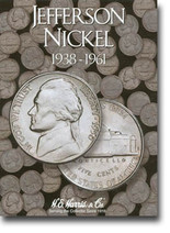 H.E. Harris Folder: Jefferson Nickels #1 1938-1961
