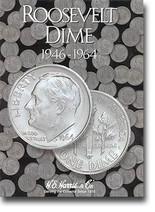 H.E. Harris Folder: Roosevelt Dimes #1 1946-1964