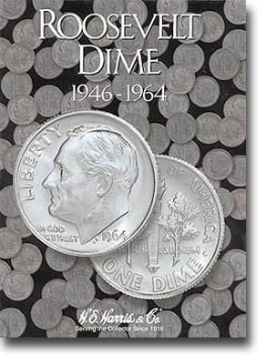 1946-1964 Whitman Harris Roosevelt Dime #1 Folder