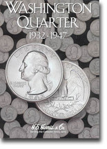 H.E. Harris Folder: Washington Quarters #1 1932-1947