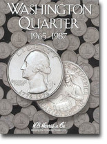H.E. Harris Folder: Washington Quarters #3 1965-1987
