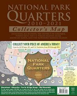 Whitman National Park Quarters Traditional Map