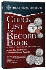 The Official Red Book: Check List And Record Book for U.S. And Canadian Coins -3rd Edition