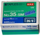 5,000 #35 Standard Staples