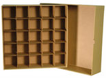 Box for Large Dollar Tubes-Tan