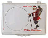 Snaplock for Silver Eagle - Marry Christmas -Santa