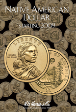 H.E. Harris Folder: Native American Dollars 2009-Date