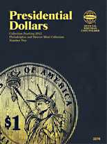 Whitman Folder: P&D - Presidential Dollars 2012- Vol.2
