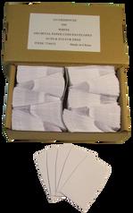 Archival Paper Coin Envelopes - White -Pack of 500