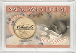 "Frosted 2"" x 3"" Case for Sacagawea Dollars: It's a Girl!"