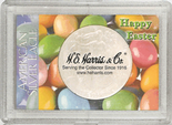 "Frosted 2"" x 3"" Case for American Silver Eagle Dollars: Happy Easter"
