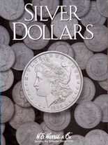 H.E. Harris Folder: Silver Dollars -Plain