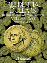 H.E. Harris Folder: Presidential Dollars 2012-2016 P&D Vol.2