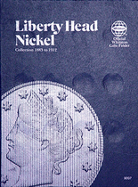 Whitman Folder- Liberty Head Nickel-1883-1912