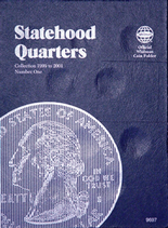 Whitman Folder- Statehood Quarters #1- 1999-2001 P&D